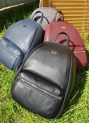 Стильный вместительный женский рюкзак david jones