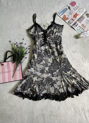 Шёлк платье сарафан миди шелковое karen millen