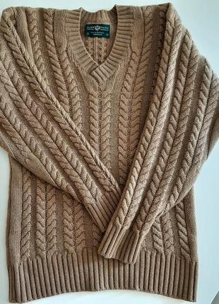 Джемпер свитер пуловер  верблюжья шерсть