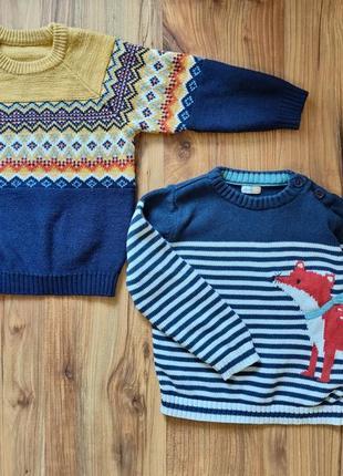 2 свитера на 3-4 года одним лотом