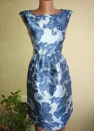 Роскошное фирменное платье с карманами,р.36-38