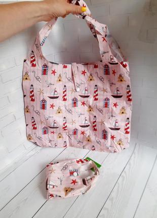 Эко сумка многоразовая для покупок шоппер eco chic