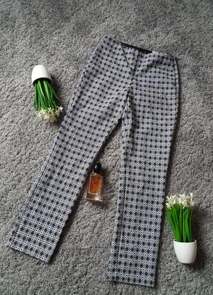 Зручні штани на резинці від zara 46р.