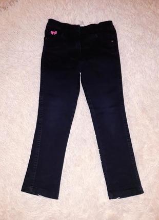 Джинсы джинсики штаны одежда черные emoi 5 лет