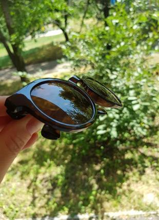Очки солнцезащитные анималистический принт4 фото