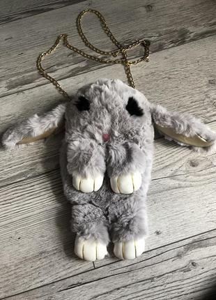 Сумка-рюкзак игрушка «зайка»