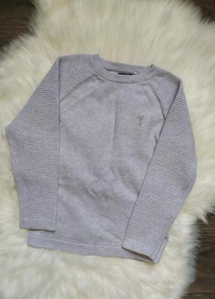 Джемпер, тонкий свитер, 4-5 лет, мальчик, 104-110