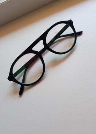 Очки имиджевые нулёвки без диоприй3 фото