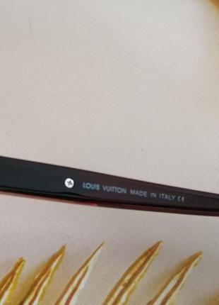 Эксклюзивные коричневые брендовые квадратные солнцезащитные женские очки 20217 фото