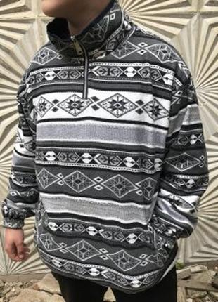 Двох сторонній  светер-куртка