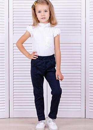 Школьные брюки для девочек3 фото