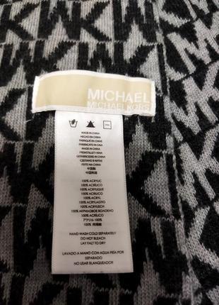 Шарф мужской теплый michael kors3 фото