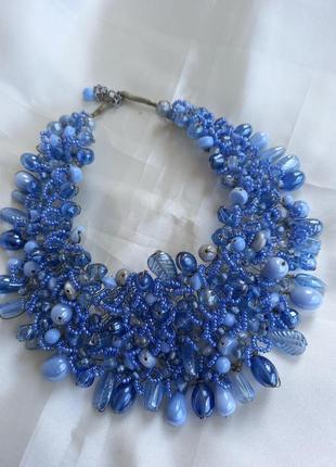 Ожерелье,стекло