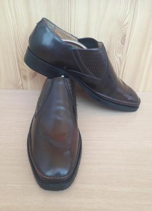 Туфлі barker, кожа