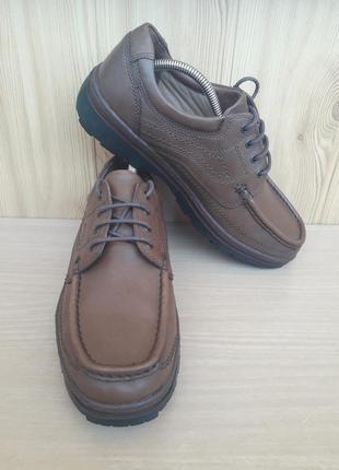 Туфлі clarks, кожа
