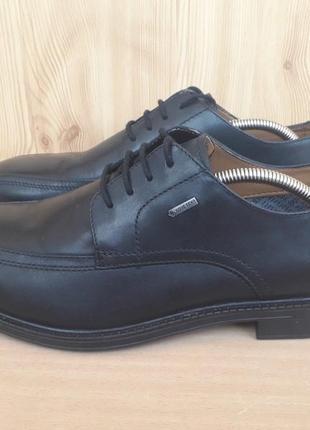 Туфлі clarks (gore-tex), кожа