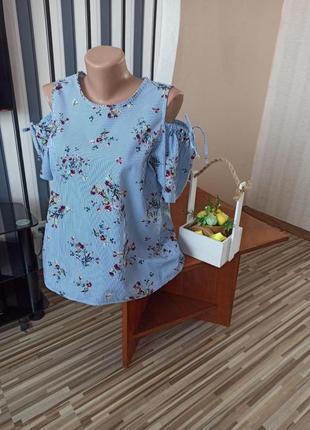 Легкая нежная блуза на лето