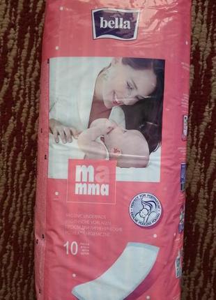 Прокладки послеродовые bella mamma, 10 шт