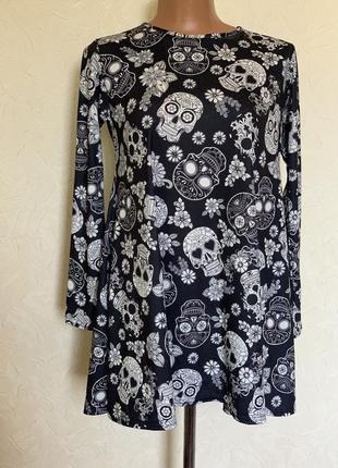 Платье трапеция праздник смерти