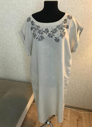Платье manor , лён