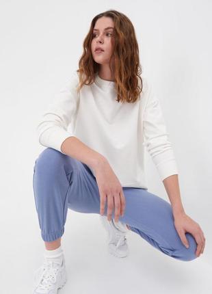 Спортивные штаны, джоггеры женские без флиса с карманами1 фото