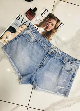 Крутые высокие джинсовые шорты деним new look denim  1+1=3 на всё 🎁