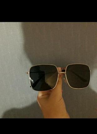 Солнцезащитные очки маска квадратные очки4 фото