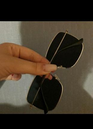 Солнцезащитные очки маска квадратные очки5 фото