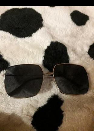 Солнцезащитные очки маска квадратные очки3 фото