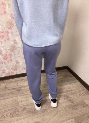 Спортивные штаны, джоггеры женские без флиса с карманами6 фото