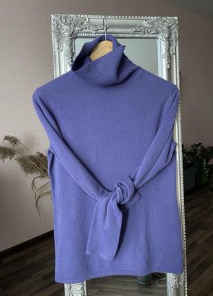 Кашемировый гольф свитер 100% кашемир