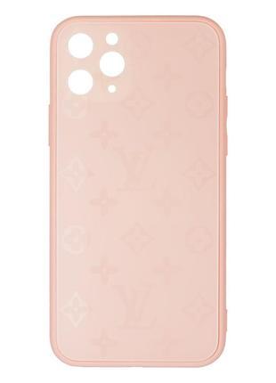 Чехол стеклянный матовый для iphone 11 pro