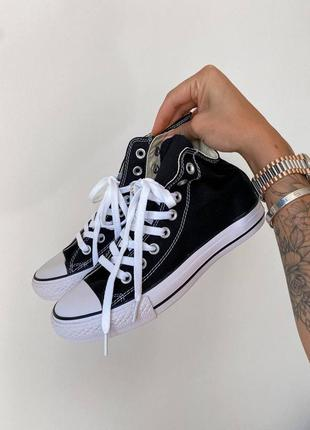 Converse chuk taylor classic black high кеды конверс наложенный платёж купить3 фото