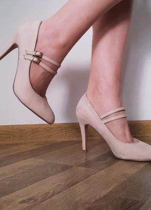 Туфли atmosphere нежно розовые