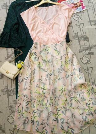 Нежное красивое платье, размер  22-24