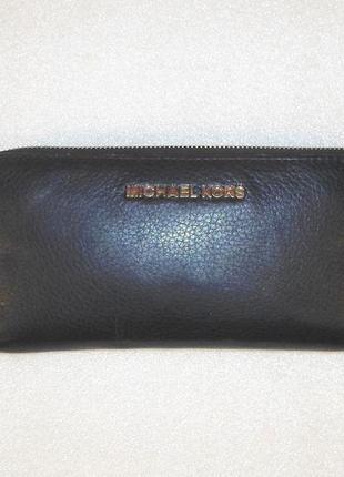 Шкіряний гаманець *michael kors* оригінал №