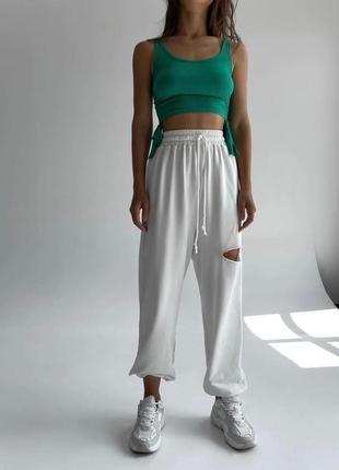 Женские базовые спортивные штаны