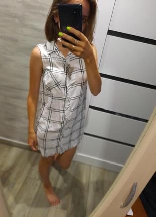 Платье рубашка женская
