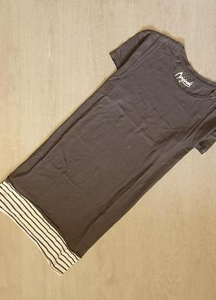 Продается стильная , удлиненная мужская футболка от jack&jones