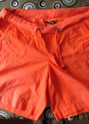 Легкие шорты 50-52р-ра с трикотажным поясом