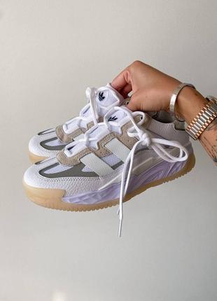 Женские кроссовки adidas niteball white   жіночі кросівки білі