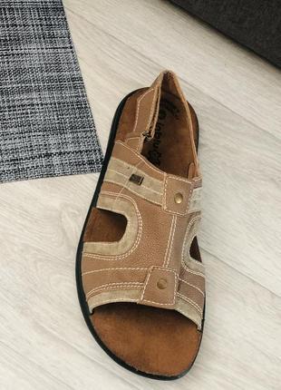 Босоножки сандали мужские кожаная стелька новые