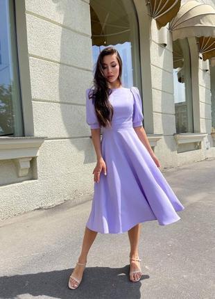 Обворожительное миди платье