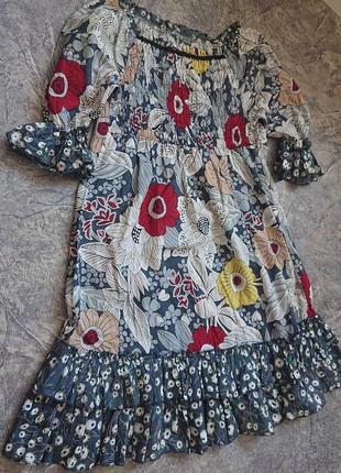 Винтажное хлопковое платье. 100% хлопок