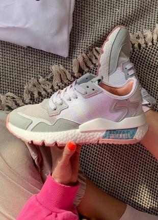 🤍 женские кроссовки adidas nite jogger