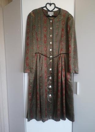 Эксклюзивное восхитительное шёлковое платье