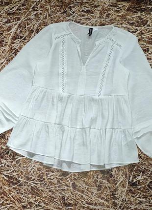 Новая легкая натуральная блуза h&m.
