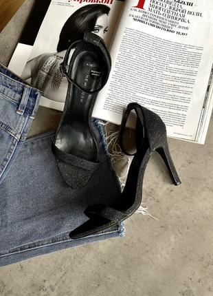 Босоножки на каблуке стильные new look