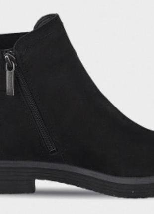 Женские, кожаные демисезонные челси ботинки tamaris