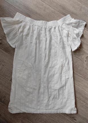 Шикарное платья на спущенные плечи allsaints
